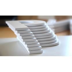 Letras en PVC Blanco