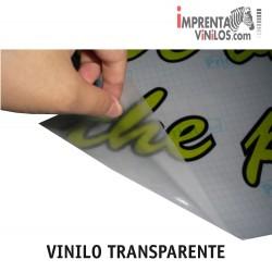 VINILO TRANSPARENTE IMPRESO