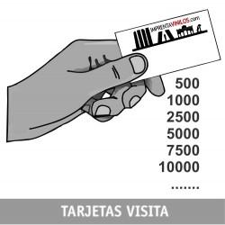 TARJETAS VISITA